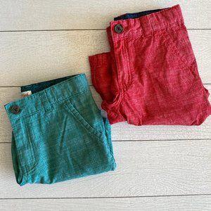 Cat and Jack Chino Shorts - Boys Size 8, Set of 2